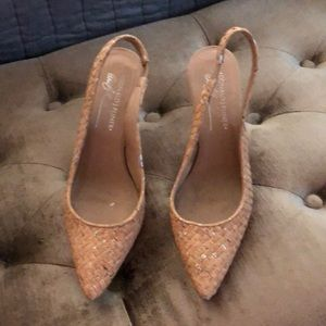 Donald Pliner Cork Pumps
